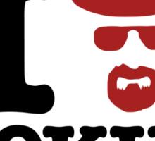 Heisenberg - I love cooking Sticker