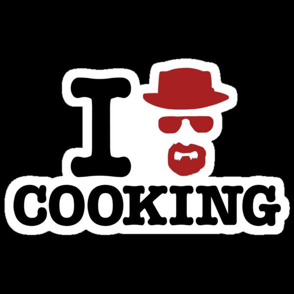 Heisenberg - I love cooking by Azafran