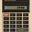 Retro Calculator Ipad Case by dgoring