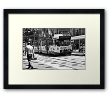 Bourke Street Mall Framed Print