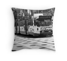Bourke Street Mall Throw Pillow
