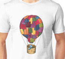 Hot Air Balloon Dog Unisex T-Shirt