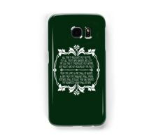All That Glitters is Gold Does Not Glitter Samsung Galaxy Case/Skin