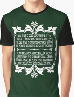All That Glitters is Gold Does Not Glitter Graphic T-Shirt