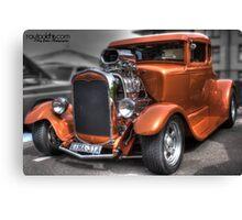Orange rod Canvas Print