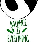Balance Is Everything! Tumbling panda. by shizayats
