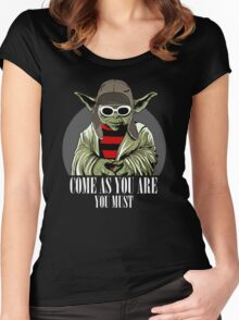 Come As You Are You Must Women's Fitted Scoop T-Shirt