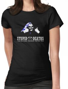 Horrible Histories - Stupid Deaths Womens Fitted T-Shirt