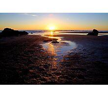 Dog Day Sunset Photographic Print