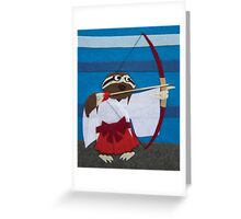 Gracie the Sloth - Shrine Maiden Greeting Card
