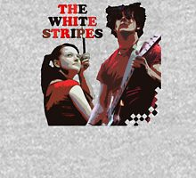 white stripes Unisex T-Shirt