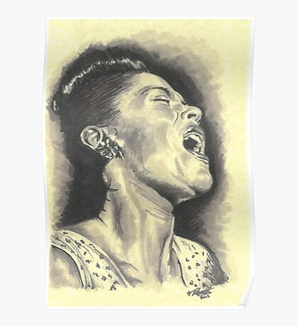 Billie Holiday Poster