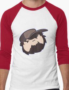 I'M NOT SO GRUMP - Jon Game Grumps Men's Baseball ¾ T-Shirt