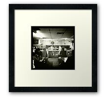 Antico Pizza, Atlanta GA Framed Print