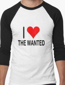 The Wanted Men's Baseball ¾ T-Shirt