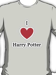 I Love Harry Potter T-Shirt