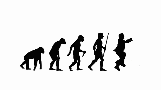 Evolution of Man - Gangnam Style by ToruandMidori