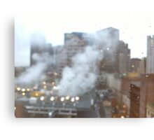 Boston. A city breathing. Canvas Print