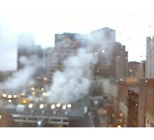 Boston. A city breathing. Photographic Print