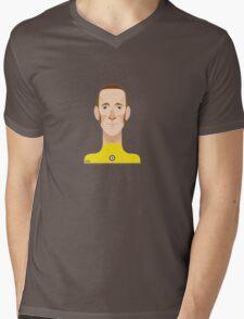Bradley Wiggins sports personality Mens V-Neck T-Shirt