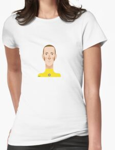 Bradley Wiggins sports personality Womens Fitted T-Shirt