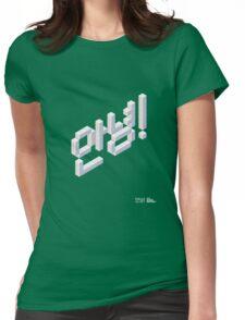 8-bit Annyeong! T-shirt (White) T-Shirt