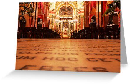 St. Paul's Cathedral, Mdina by Ryan Davison Crisp