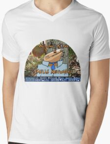 SMELLS NETWORK Mens V-Neck T-Shirt