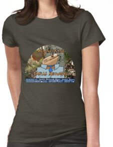 SMELLS NETWORK Womens Fitted T-Shirt
