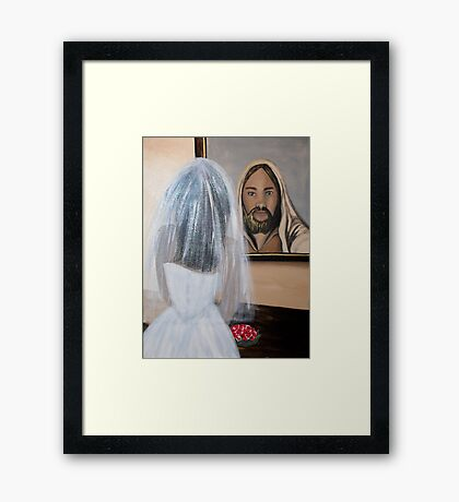 In HIS Image Framed Print