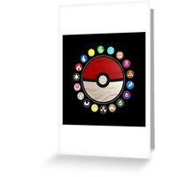 Pokemon - Pokeball Greeting Card