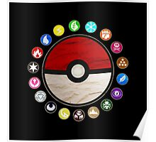 Pokemon - Pokeball Poster