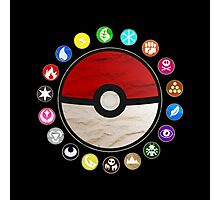 Pokemon - Pokeball Photographic Print