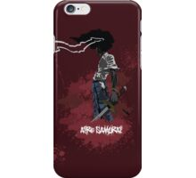 Afro Samurai iPhone Case/Skin