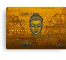 Buddha. The message Canvas Print