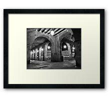 "The ""Plaza Mayor"" at night  Framed Print"