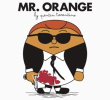 Mr. Orange (Mr. Men versus Reservoir Dogs) by mess