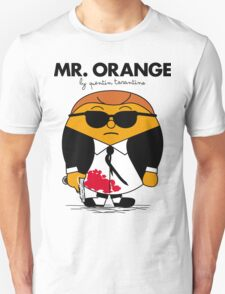 Mr. Orange (Mr. Men versus Reservoir Dogs) Unisex T-Shirt