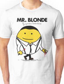 Mr. Blonde (Mr. Men versus Reservoir Dogs) Unisex T-Shirt