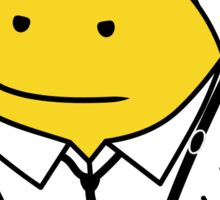 Mr. Blonde (Mr. Men versus Reservoir Dogs) Sticker