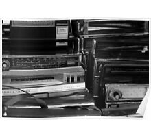 Vintage Radios Poster