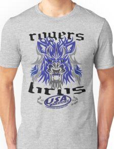 usa warriors wolf by rogers bros T-Shirt
