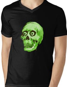 CREEP II (green) Mens V-Neck T-Shirt