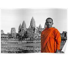 Angkor Wat Backing Poster