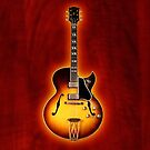 Gibson jazz electric guitar v2 iPhone Case by goodmusic