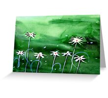 Flowers 3 Greeting Card