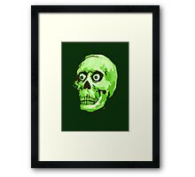 CREEP II (green) Framed Print