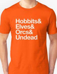 Hobbits Elves Orcs Undead T-Shirt