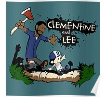 Clementine and Lee Poster