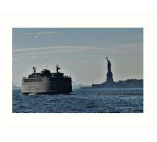 Liberty Island Art Print